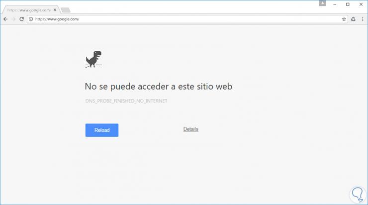 error internet
