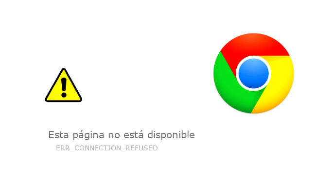 error err_connection_refused