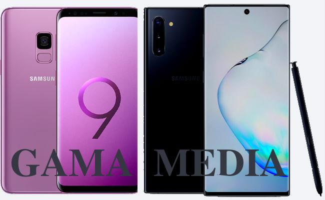 móviles gama media Samsung